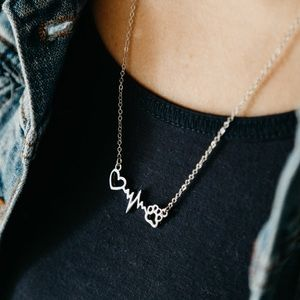 Jewelry - Silver Veterinary Necklace 🐾